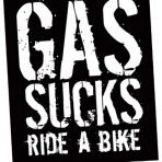 Gas Sucks Sticker