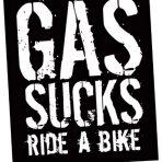 Gas Sucks Sticker