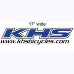 KHS Die-Cut Decal 4″ x 17″
