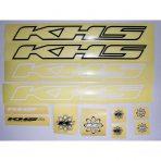 KHS Frame Decal Set